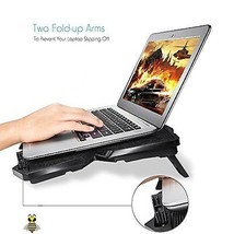 "Laptop Cooling Pad 15.6"" - 17"", 4 Fans 120mm, 1200 RPM Notebook Macbook ... - €97,41 EUR"