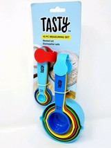 Tasty 10 Piece Measuring Nested Set Spoons And Cups Dishwasher Safe Bran... - £6.94 GBP