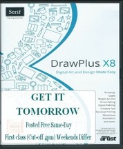New DrawPlus x8 DVD fantastic software Now Comes with a start up User Gu... - $35.50