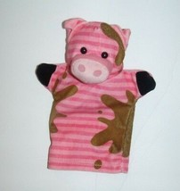 """Melissa & Doug Hand Puppet Farm Friends Pink Pig Brown Mud 5""""x9"""" - $9.79"""