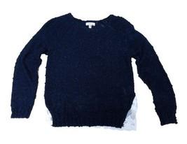 Monteau Ruffle Back Sweater, Big Girls, SIZE SMALL - $30.26