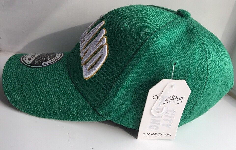 Brand New With Labels City Gang SnapBack Premium Ireland Green Hat