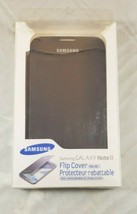 Samsung Galaxy Note 2 Flip Cover with NFC Brand New  - $0.98