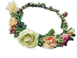Beautiful Flower Hair Garland for Bride Hair Accessory