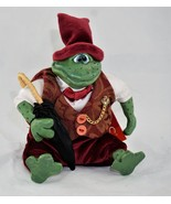 "Russ Berrie ""Leopold"" frog #2656 - Lil' Romantics Collection by Kathleen... - $19.20"