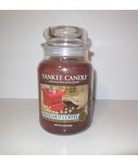 Yankee Candle new Hazelnut Coffee 22 oz Glass Jar with Lid - $50.00