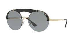 Prada Sunglasses PR52US 1AB3C2 Round Fashion Sunglasses 37mm - $152.29