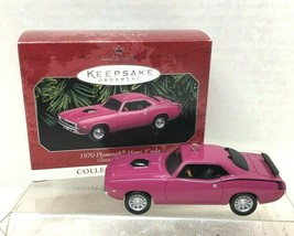 1998 Classic Am Cars #8 Hemi Cuda  Hallmark Christmas Tree Ornament MIB ... - $22.28