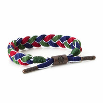 Rastaclat Magellan Green Red Blue Shoelace Braided shoelace Bracelet NEW
