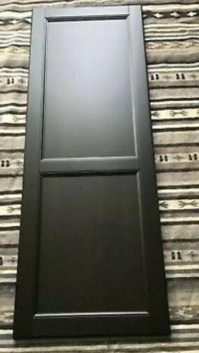 "Ikea Laxarby Large CABINET Pantry DOOR Black Brown Sektion kitchen 24"" X 50"""