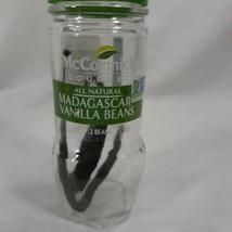 McCormick Madagascar Vanilla Beans 2 Gourmet Beans New Sealed - $20.56