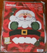 Janlynn Plastic Canvas Kit Santa Wall Hanging Christmas - $24.25