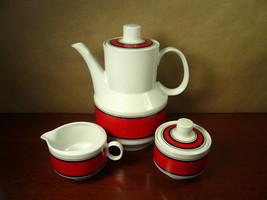 Retro Winterling Marktleuthen Bavaria Coffee Tea Pot with Creamer & Sugar - $47.99