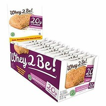 WHEY 2 BE | PROTEIN COOKIE | 20 g of Protein each | Snickerdoodle (12 ct) - $24.70