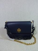 NWT Tory Burch Royal Navy Kira Double-Strap Mini Xbody Bag/Shoulder Bag ... - $324.72