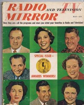 ORIGINAL Vintage May 1950 Radio TV Mirror Magazine Award Winners Bob Hope - $18.51