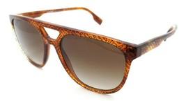 Burberry Sunglasses BE 4302 3823/13 56-18-145 TB Black Lt Havana/ Brown ... - $176.40