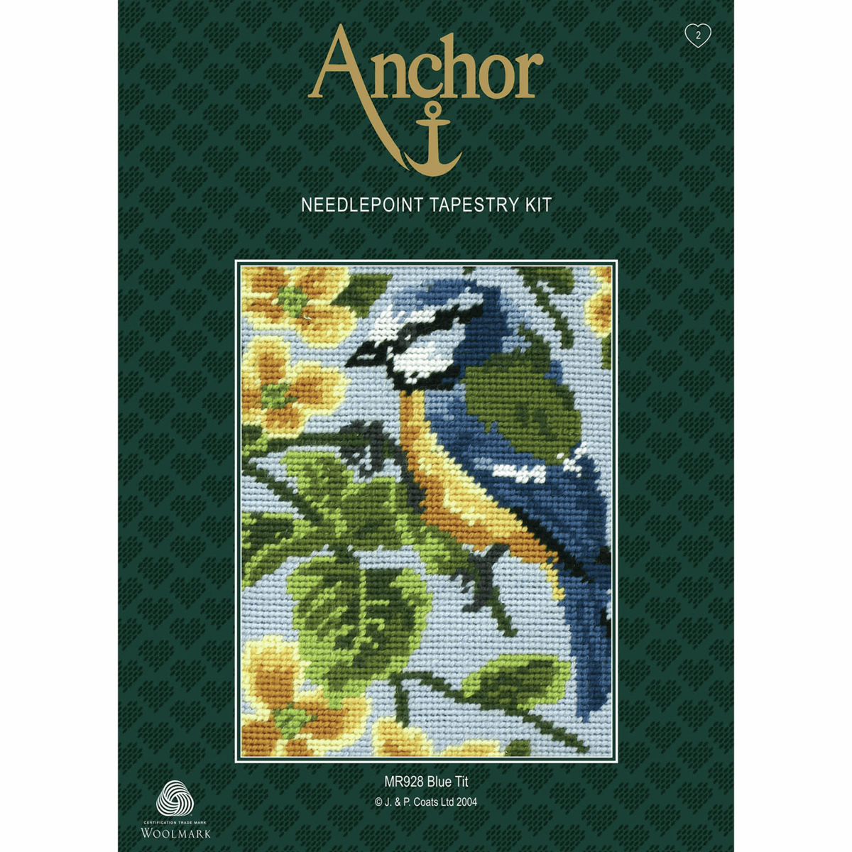 "Primary image for ""Blue Tit"" Tapestry Starter Kit by Anchor  MR928"
