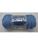 I Love This Yarn! Super Soft Acrylic Medium Weight Yarn-1 Skein Stonewas... - $6.60