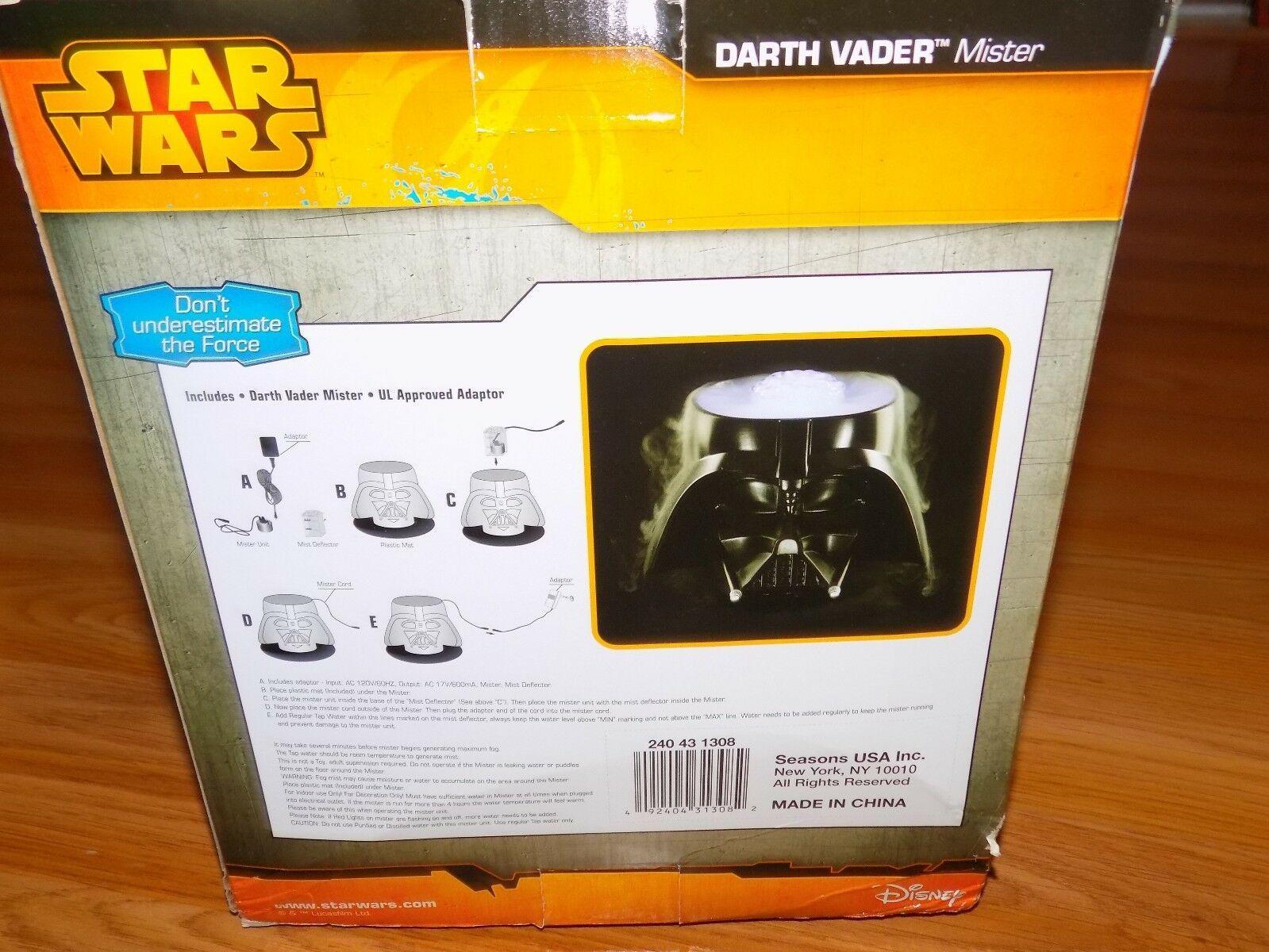 Disney Star Wars Darth Vader Helmet Mister Halloween Decoration New