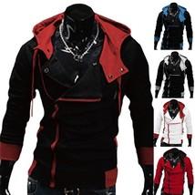 Men's Zipper Hoodie Coat Jacket Assassin's Creed Zipper Men Hoodies Sweatershirt