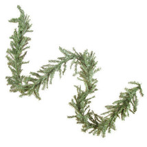 Christmas Canadian Pine Garland: 12 inches x 9 feet, 280 tips w - $18.99