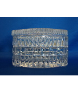 Older Crystal Lidded Trinket Box Absolutely Gorgeous - $11.99