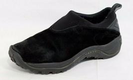 Merrell Orbit Moc Femmes Slip Chaussures Noir Air Coussin Randonnée Tail... - $26.06