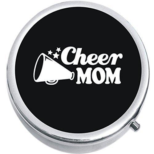 Cheer Mom Medicine Vitamin Compact Pill Box - $9.78