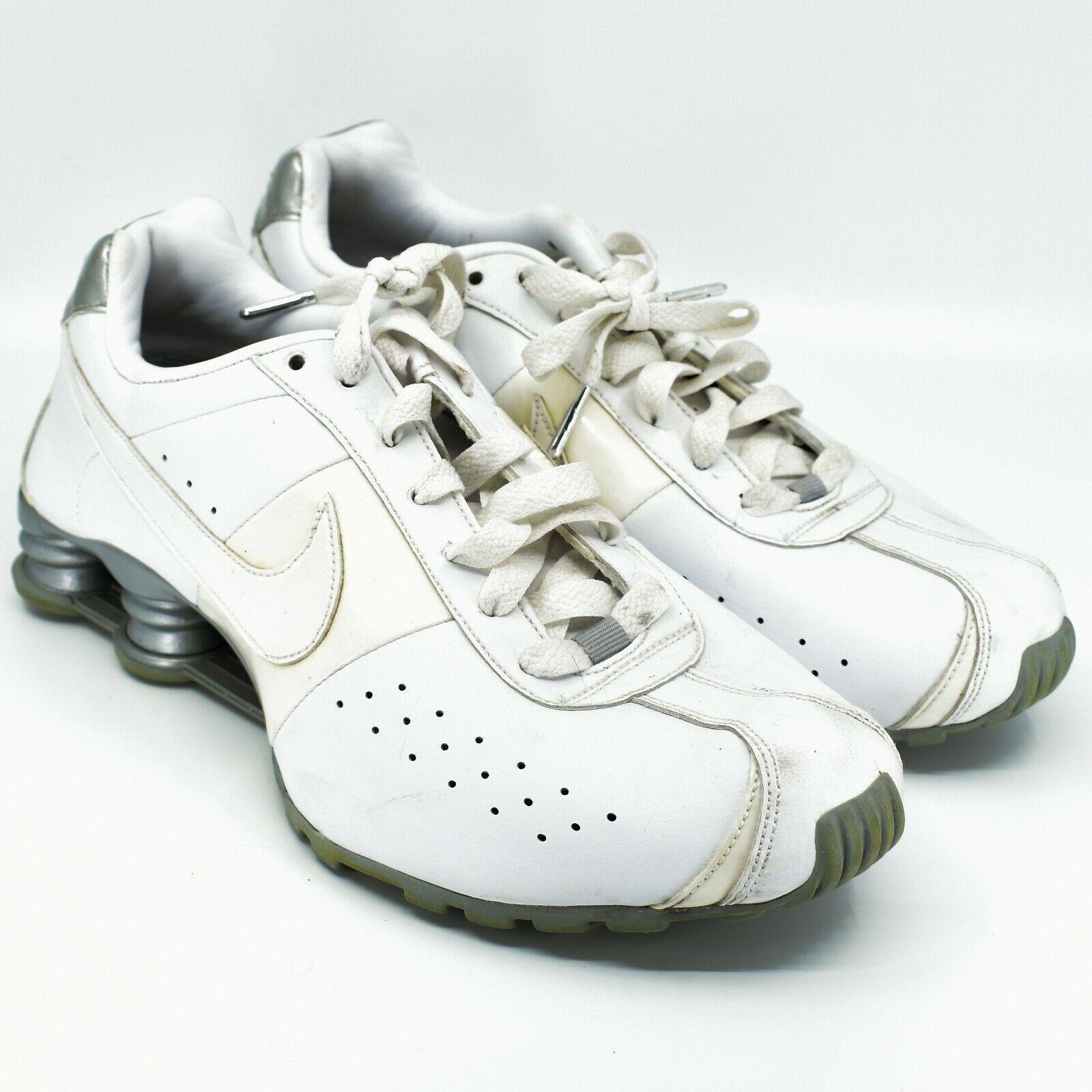 Nike Shox Classic II Women's White & Silver Running Sneaker Size 10 343907-111