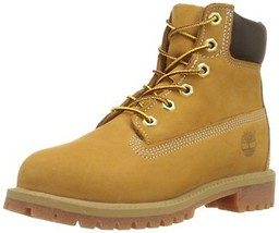 Timberland Little Kids 6 Inch Premium Waterproof Boot Wheat 12709 - $1.613,33 MXN