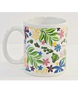 Hawaiian Designed Island Chain Floral Coffee Mug Cup The Islander Group - $21.73