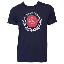 Men's Maker's Mark Navy Wax Seal T-Shirt Blue - $30.98+