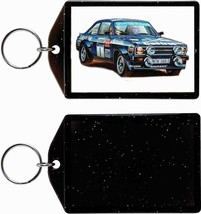 Ford Escort Rally Car KEYCHAIN-FREE Usa Ship! - $11.87