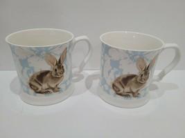 Easter Grace Teaware Bunny Rabbit Coffee Mug Set - $32.66