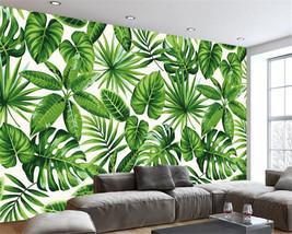 Beibehang 3d Modern tropical rain forest plant banana living room bedroom wallpa - $35.95