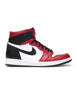 Nike Air Jordan 1 Retro Satin Snake White/Red/Black Chicago 2020 NEW AUT... - $247.45+
