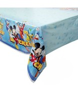 Mickey Roadster Racers Plastic Tablecover Birthday Party Supplies 1 Per ... - $6.44