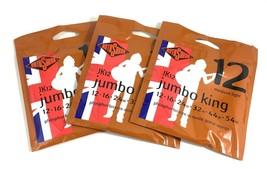 RotoSound Guitar Strings - 3 Pack Acoustic - Jumbo King - 12 Medium Ligh... - $25.99