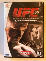 Ultimate Fighting Championship - Sega Dreamcast - Replacement Case - No Game - $7.91