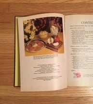 Vintage 1971 Better Homes and Gardens Blender Cookbook- hardcover image 3