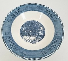 "Royal China Currier & Ives 10"" Serving Bowl Pasta Vegetables Home Sweet ... - $16.95"
