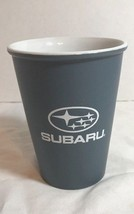 "Subaru Ceramic 4 1/4"" Blue Gray 12 oz Coffee Travel Drink Tumbler Cup - $12.19"