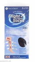1 Paire Sock shop Compression DVT Flight et Chaussettes Voyage 6-8.5 roy... - $11.02