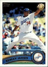 Kenley Jansen 2011 Topps Los Angeles Dodgers Baseball Card #388  - $1.49