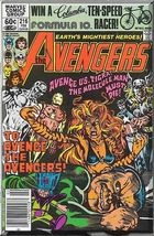 The Avengers #216 (1982) *Bronze Age / Marvel Comics / Tigra / Molecule ... - $4.00