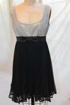 NANETTE LEPORE SIZE 6 FORMAL COCKTAIL EVENING HOLIDAY BABY DOLL SWING DRESS - $30.92 CAD