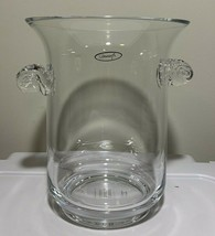 Monique Lhuillier Peyton Crystal Glass Ice Bucket, 1 Gallon, New - FREE ... - $32.67