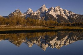 Pete Oxford Teton Range Grand Teton National Park Wyoming 30x20 Canvas Giclee - $197.01