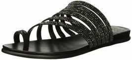 Vince Camuto Women's Edwinny Flat Sandal 5.5 Black - $34.65
